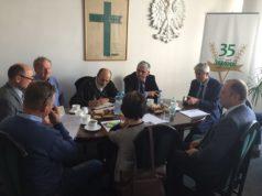 """Posiedzenie Prezydium Rady Krajowej NSZZ RI """"Solidarność"""" i Krajowej Komisji Zjazdowej w dniu 27 września 2016 roku"""