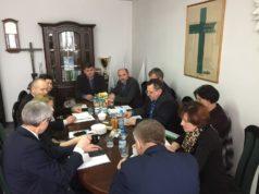 """Posiedzenie Prezydium Rady Krajowej NSZZ RI """"Solidarność"""" z udziałem ministra Krzysztofa Jurgiela w dniu 19 stycznia 2017 roku"""