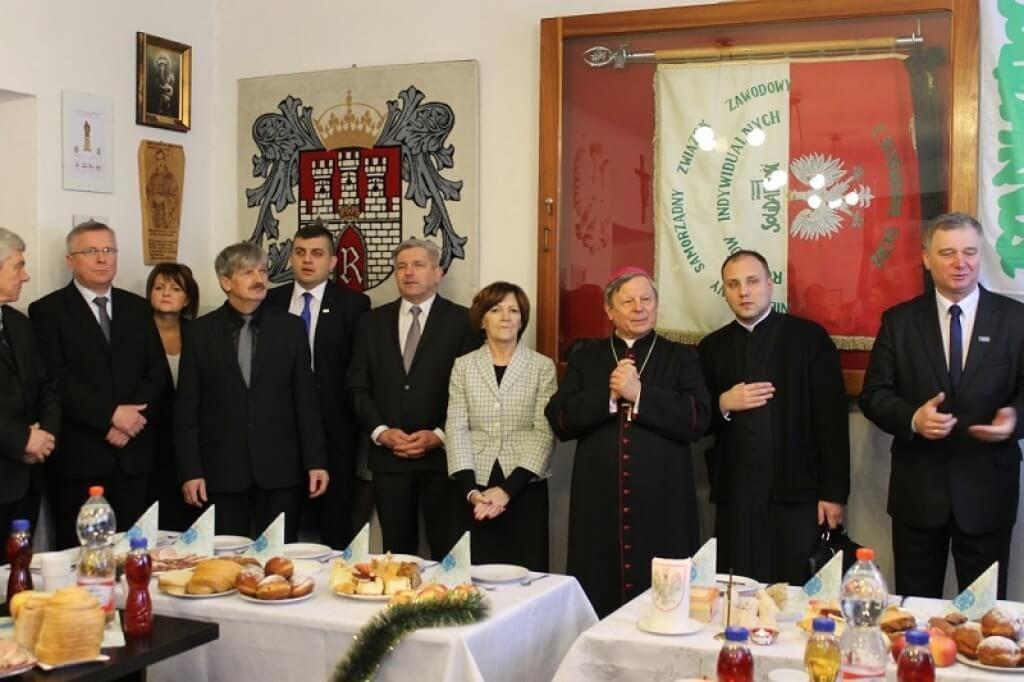 Spotkanie rocznicowo-opłatkowe w Radomiu