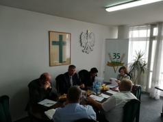 """Posiedzenie Prezydium Rady Krajowej NSZZ RI """"Solidarność"""" w dniu 23 sierpnia 2017 roku"""