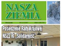 Nasza Ziemia - listopad/grudzień 2017 roku